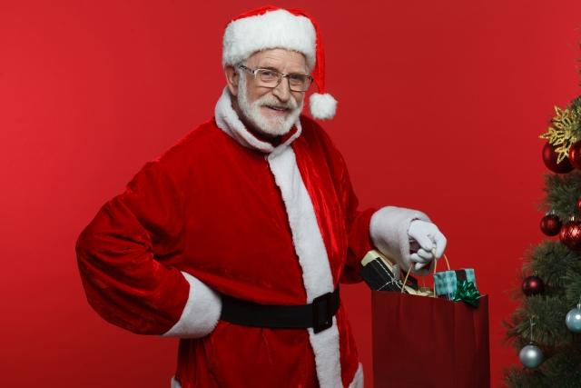 サンタさんからの本当のプレゼントは、目では見れないけれど