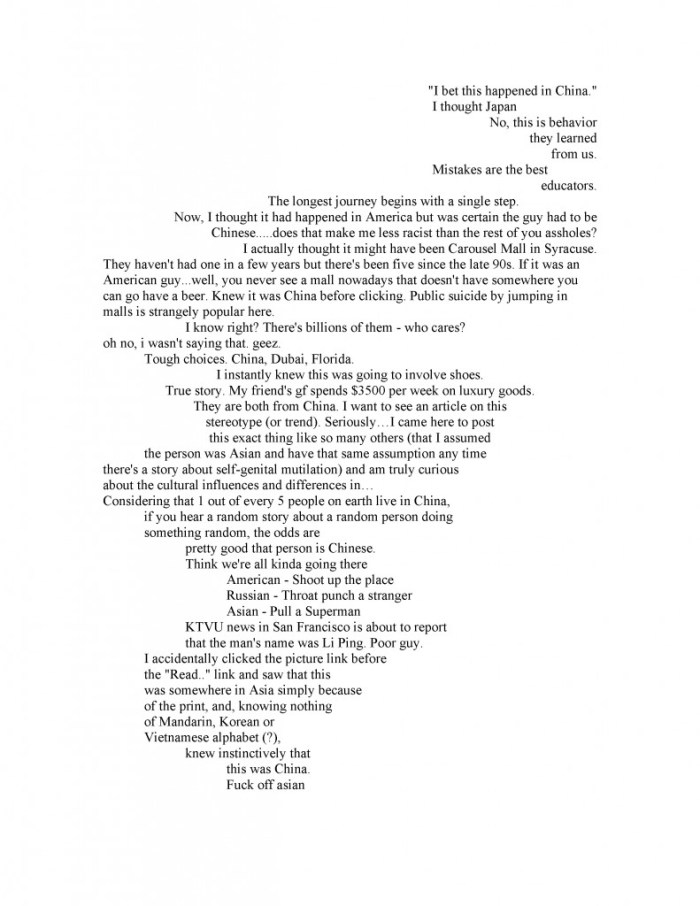 Vanessa Place: Man leaps to death (Page 2)