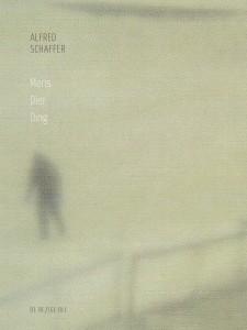 Alfred Schaffer: Mens Dier Ding (2014) onslag
