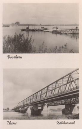 Zaltbommel voorheen & thans, prentbriefkaart F.L.Stehmann (Collectie Gelderland), CC by