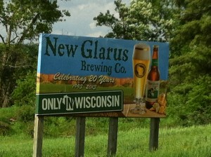New Glarus Brewing Company Entrance