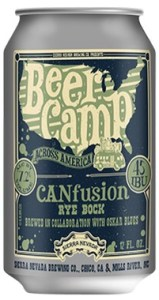 Beer Camp CANFusion, Rye Bock label.