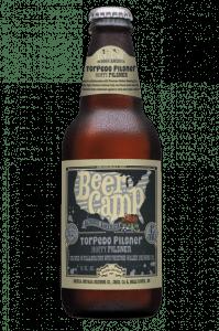 Beer Camp Torpedo Pilsner Bottle Label