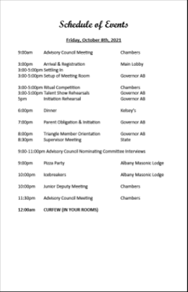 2021 Convention Schedule of Events final10241024_1