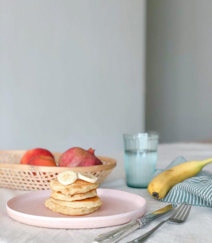 Zuckerfreie Pancakes