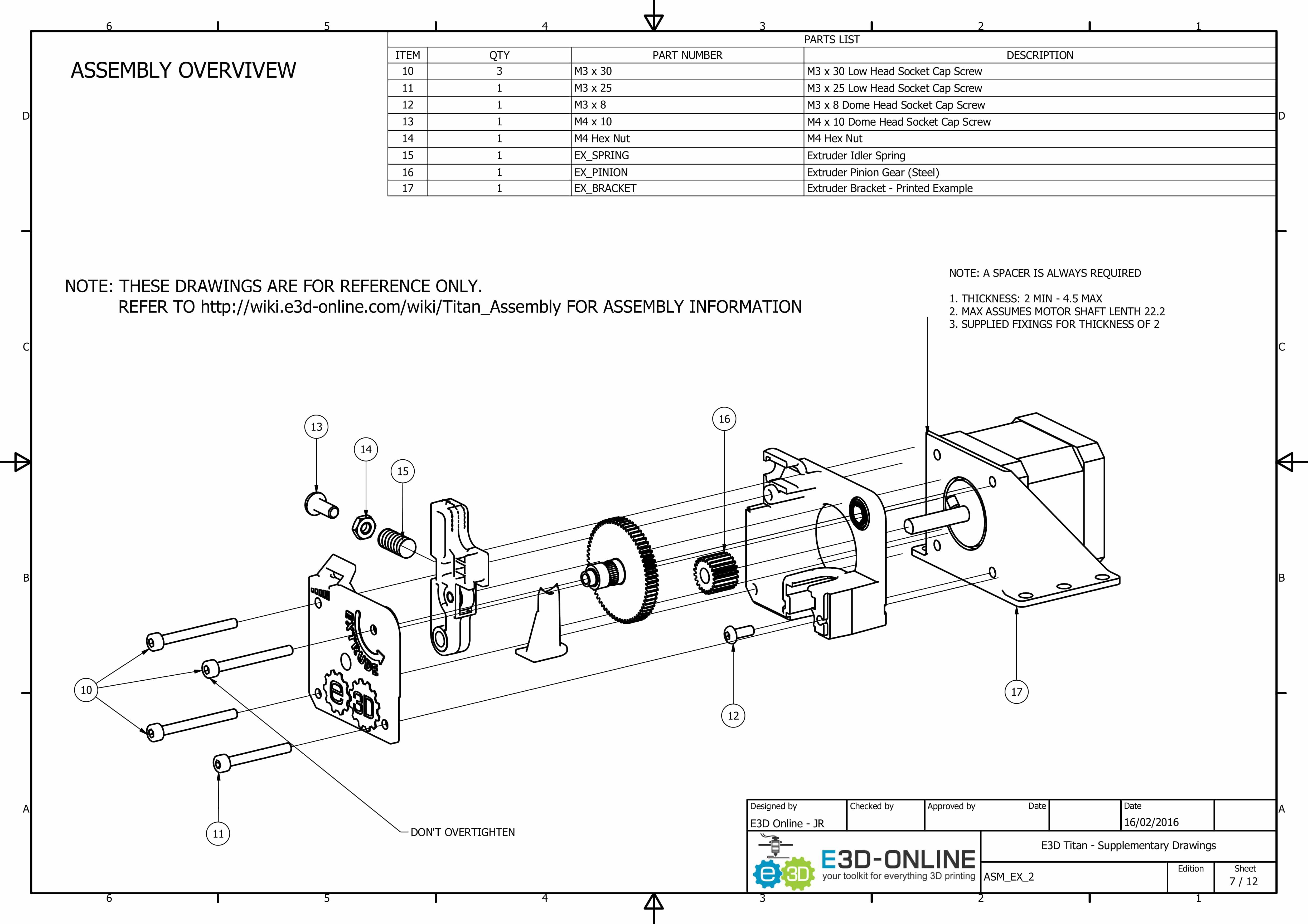 E3d Titan Aero Upgrade Kit 3d Printer Genuine