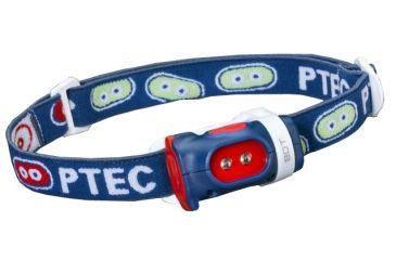 Princeton Tec Bot Headlamp, Blue / Red BOT-BL