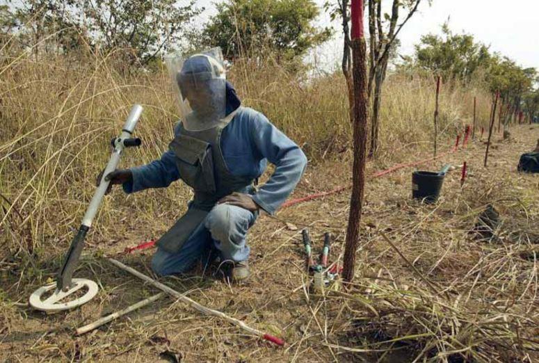 Identificadas 125 áreas suspeitas de minas no Cuanza-Norte
