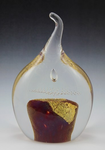Eternal Flame Paperweight