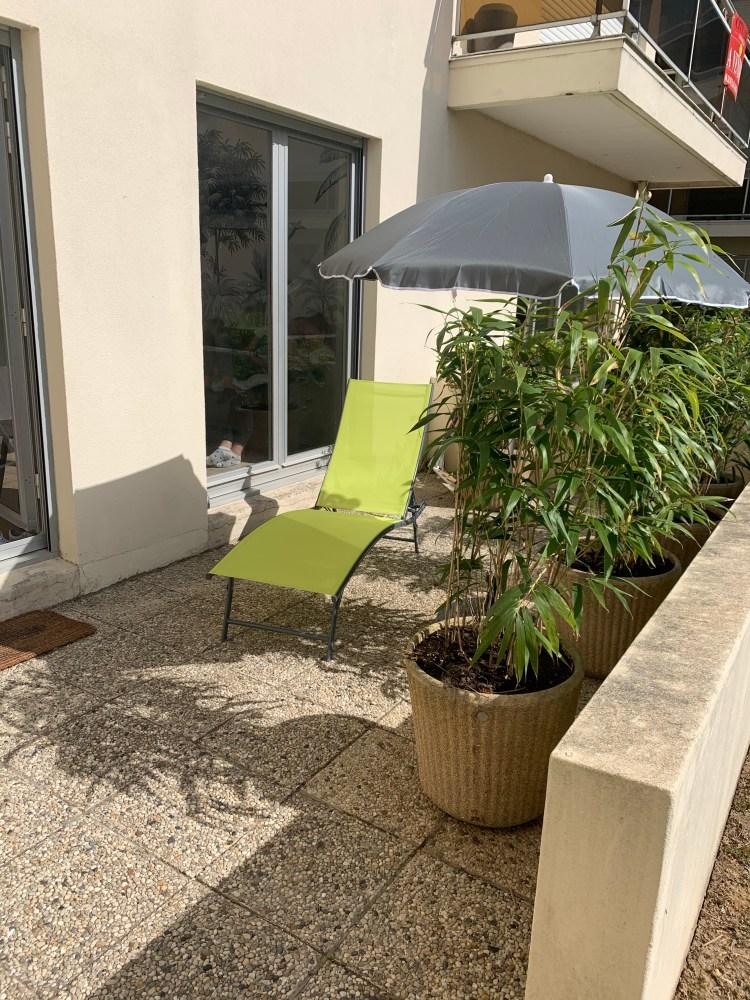 Terrasse Jardin Touquet