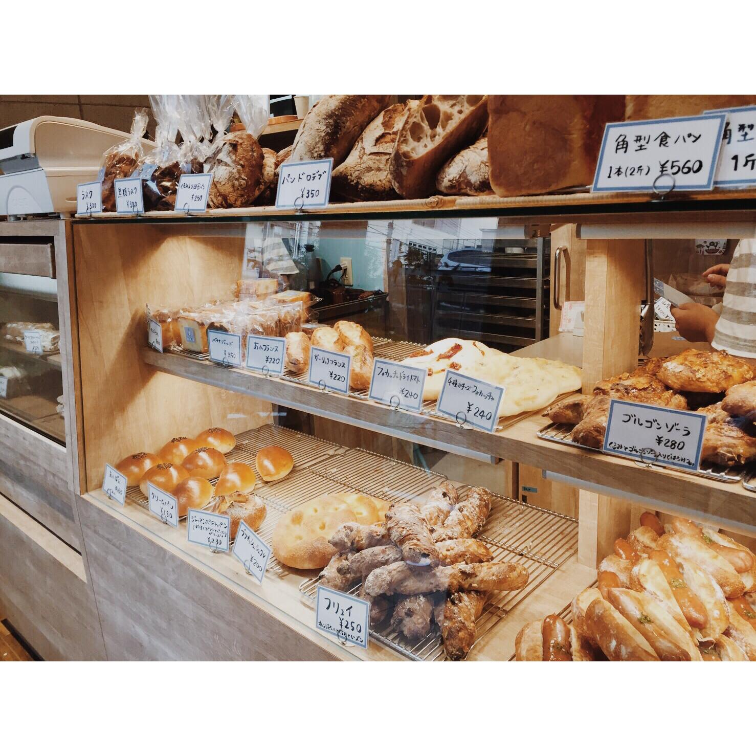 本日のパン棚(2016.10.02) | OPAN オパン|東京 笹塚のパン屋