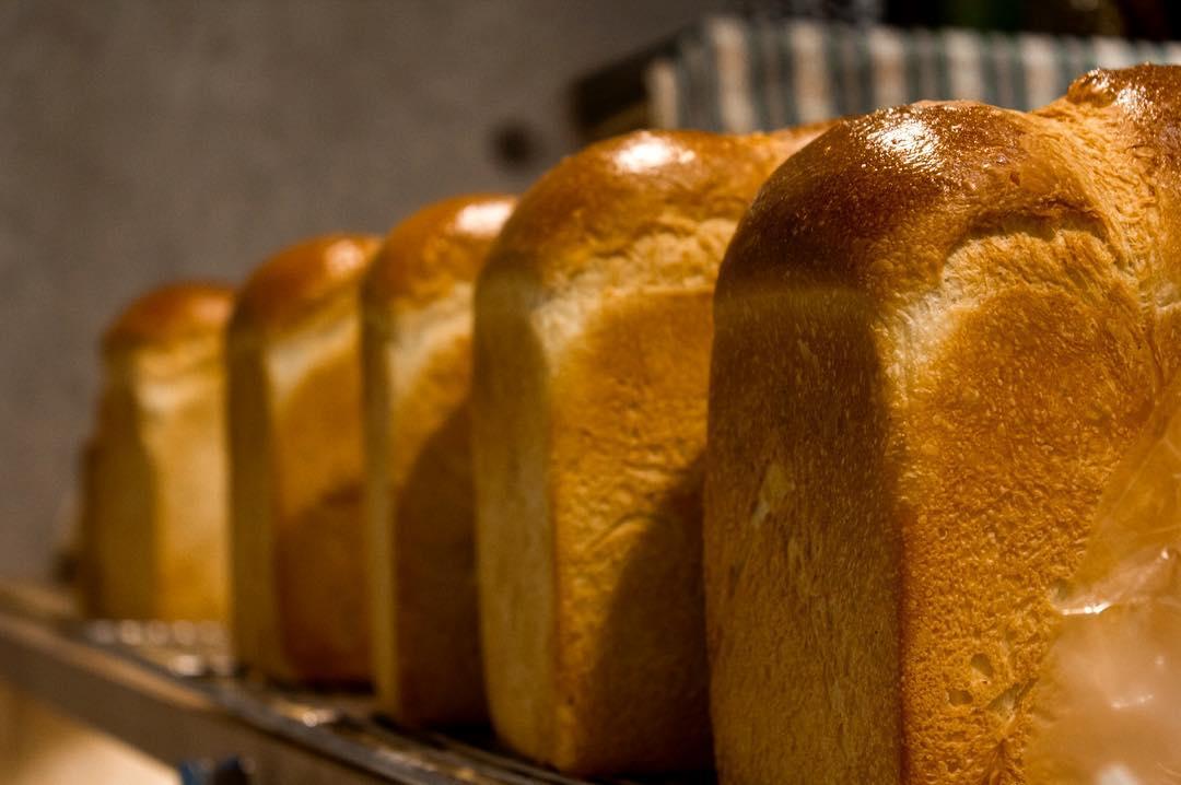 オパンの山型食パン、角型食パン(2016.12.15)
