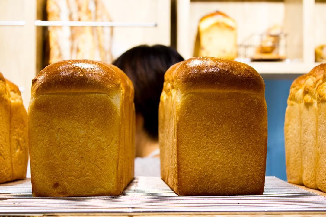 オパンの山型食パン、角型食パン(2016.12.17)