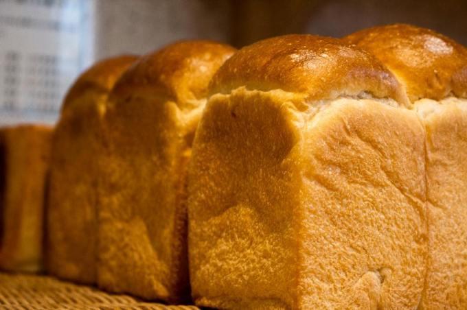 オパンの山型食パン、角型食パン(2017.04.29)