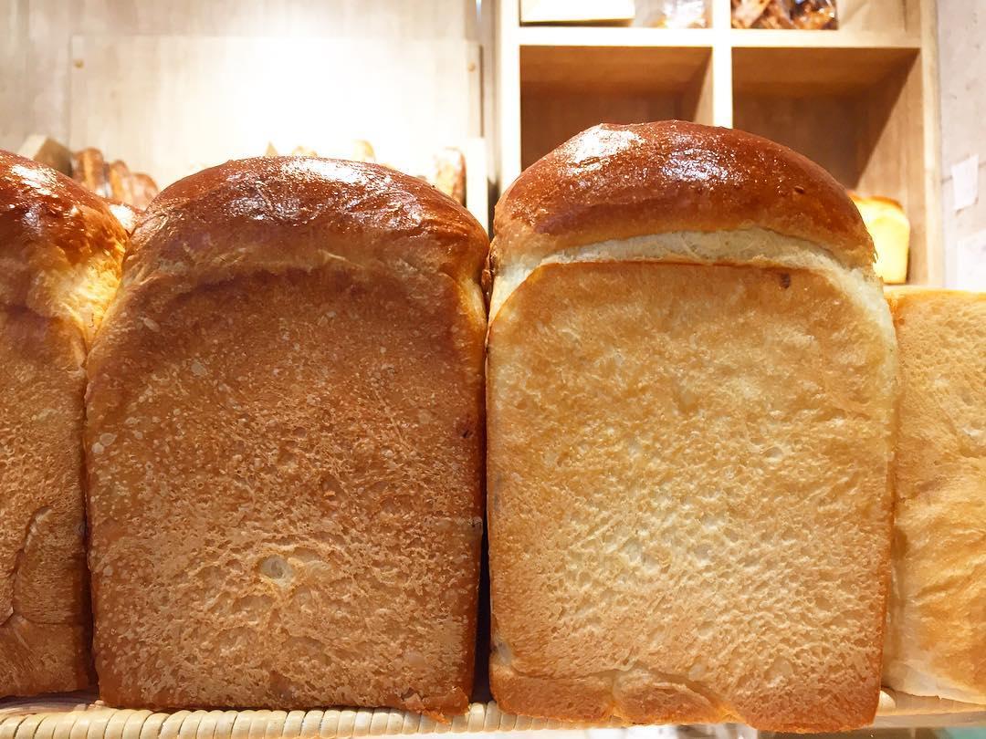 オパンの山型食パン、角型食パン(2017.06.02)