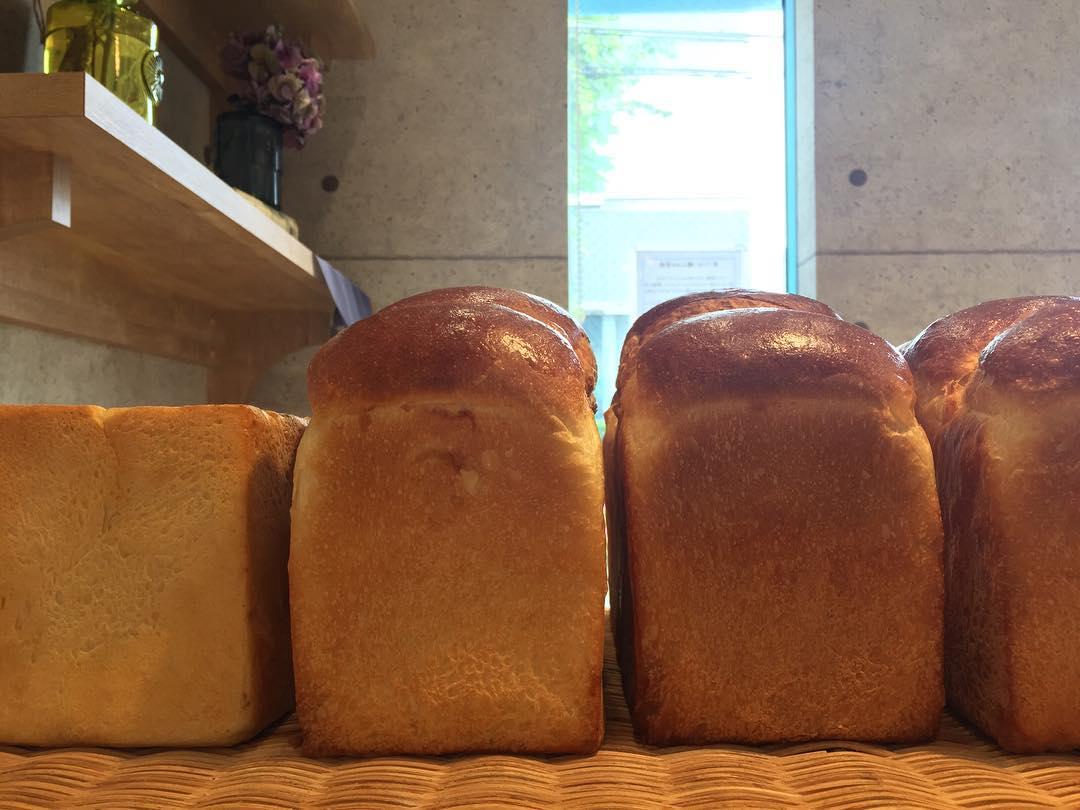 オパンの山型食パン、角型食パン(2017.06.09)