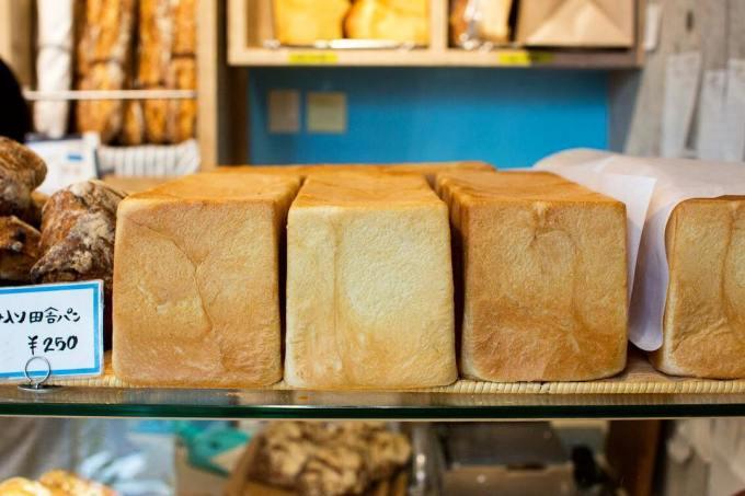オパンの山型食パン、角型食パン(2017.08.08)