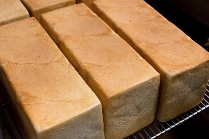 オパンの山型食パン、角型食パン(2018.01.07)