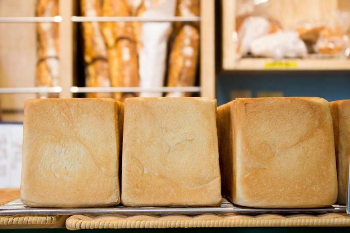 オパンの山型食パン、角型食パン(2018.03.26)