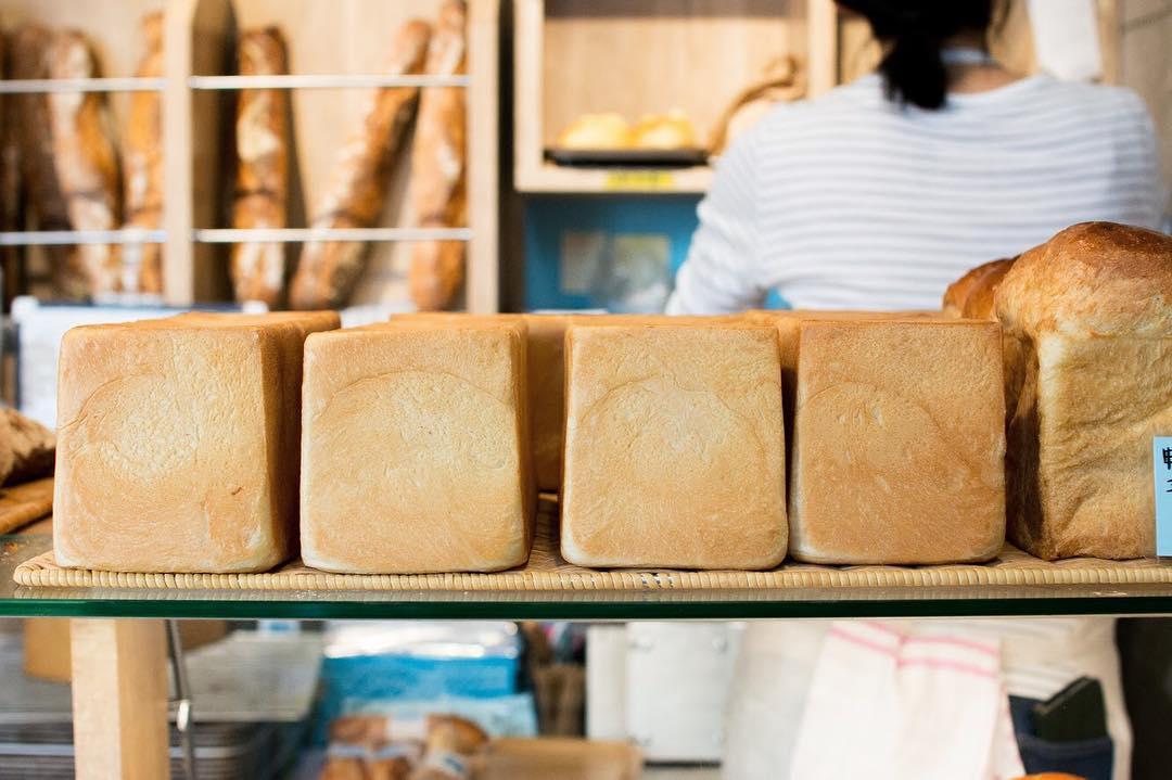オパンの山型食パン、角型食パン(2018.05.25)