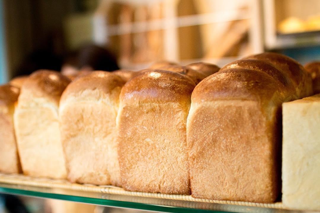 オパンの山型食パン、角型食パン(2018.07.09)