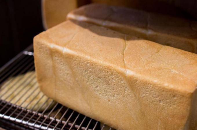 オパンの山型食パン、角型食パン(2019.01.26)