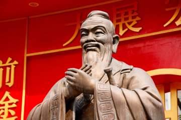 Statue Confucius