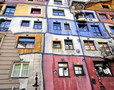 Façade Fiedensreich Hundertwasser
