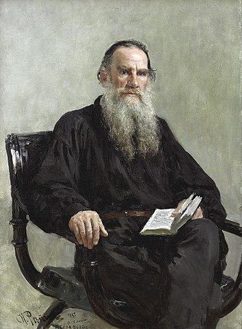 portrait de léon tolstoï