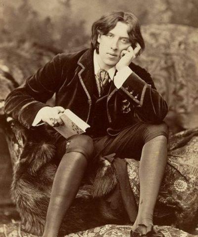 photographie d'Oscar Wilde