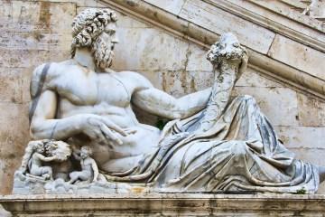 statue romaine, citation caton