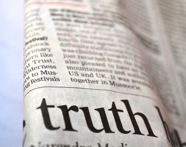 Vérité et mensonge