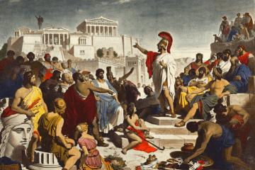 Illustration des citations de Périclès
