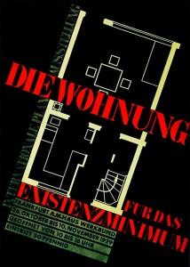 Cartaz do 2º Congresso Internacional de Arquitetura Moderna