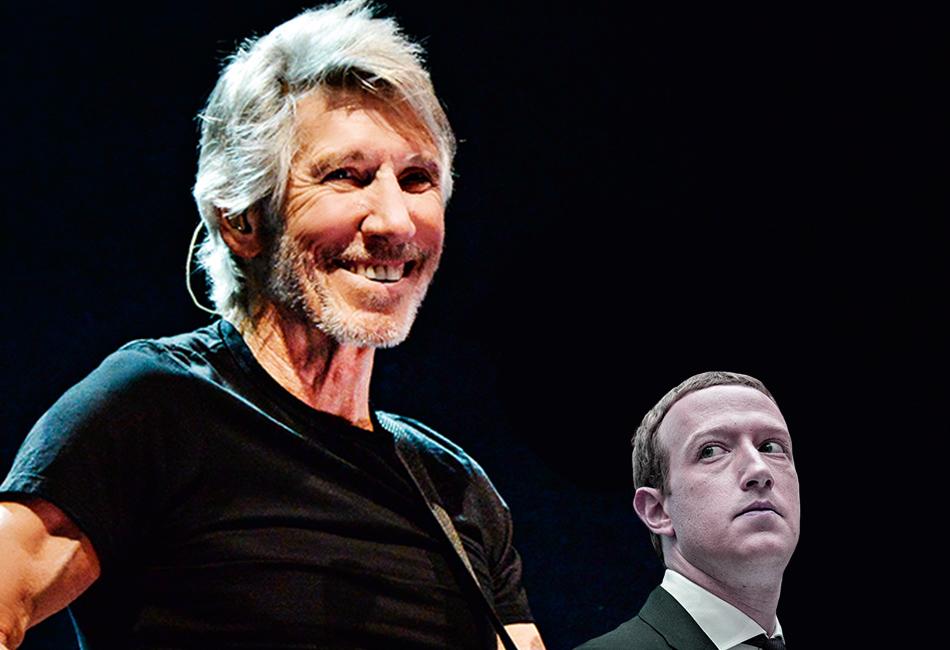 Roger Waters humilha Mark Zuckerberg