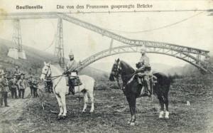 Feldpostkarte Erster Weltkrieg Bouillonville