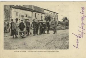 Feldpostkarte Vieville-en-Haye