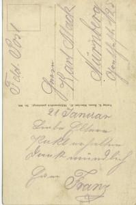 Feldpostkarte Erster Weltkrieg Auslieferung