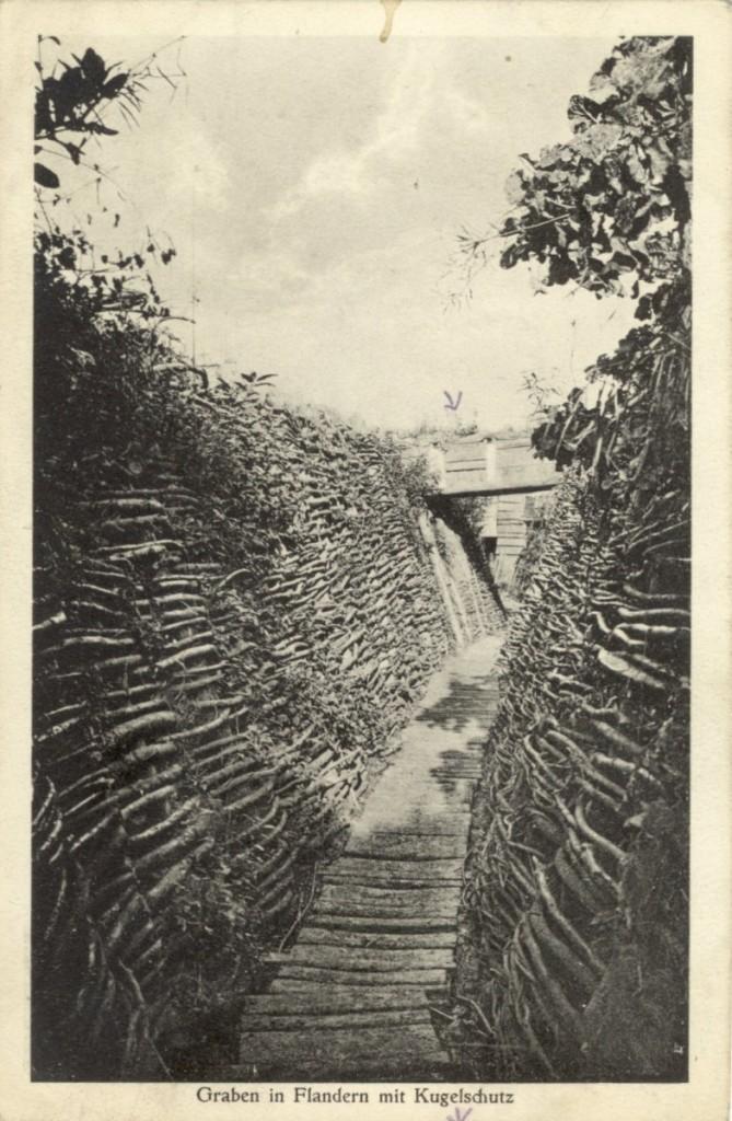 Feldpostkarte Erster Weltkrieg Falndern