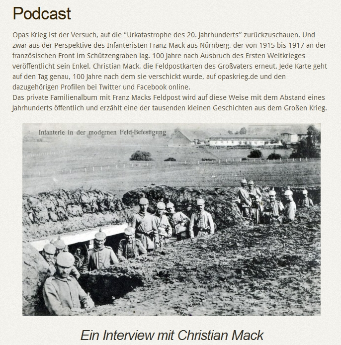 Podcast Interview Der Genealoge