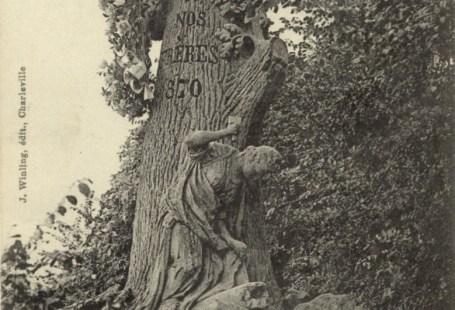 Feldpostkarte Erster Weltkrieg Sedan