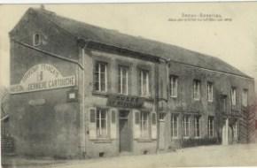 Feldpostkarte Erster Weltkrieg Sedan-Bazeilles