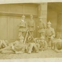 23.05.1916: Rekrutenpost vom kleinen Bruder