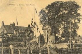 Feldpostkarte Erster Weltkrieg Santes