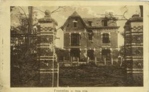 Feldpostkarte Erster Weltkrieg Fromelles