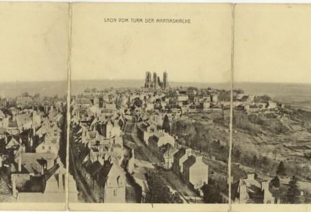 Feldpostkarte Erster Weltkrieg Laon