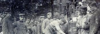 Stellungskämpfe im Artois