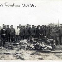 Heute vor 100 Jahren: Immelmann stürzt ab