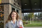 Rep. Cheri Helt at Pacific Crest Middle School in Bend on Oct. 13, 2020.