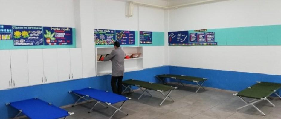Izolatorij u Bosanskoj Krupi kapaciteta 50 kreveta bit će spreman do ponedjeljka